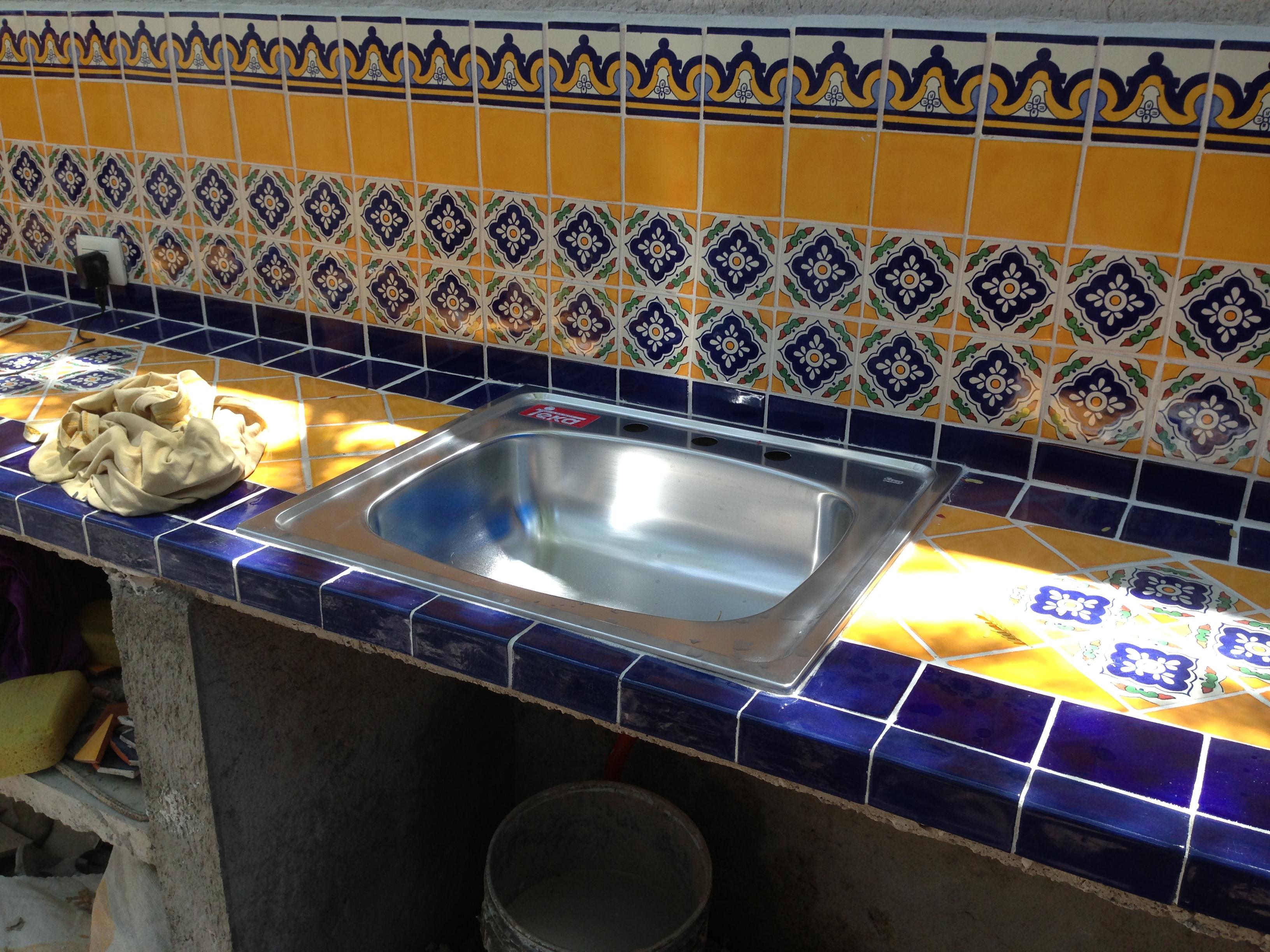 The Outdoor Kitchen Or Bbq Aerocretos De Mexico